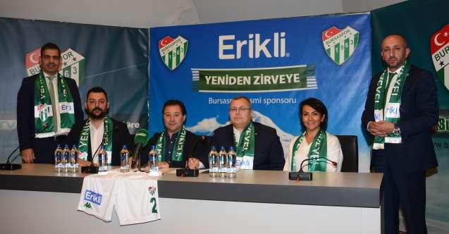 Erikli, Bursaspor'un Resmi Şort Sponsoru Oldu