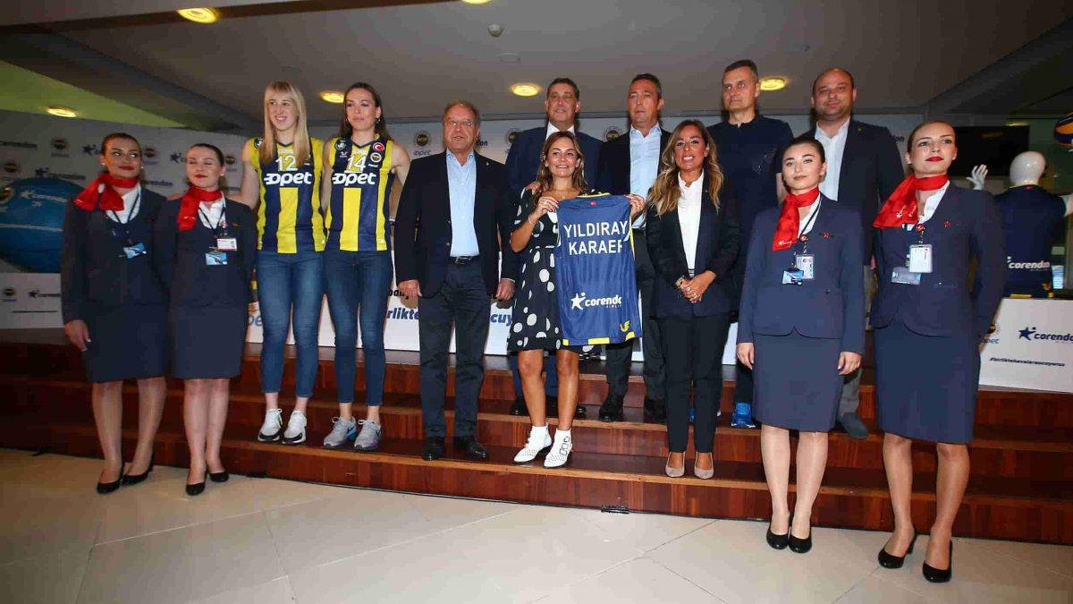 Fenerbahçe Opet'in Yeni Forma Sırt Sponsoru Corendon Airlines Oldu