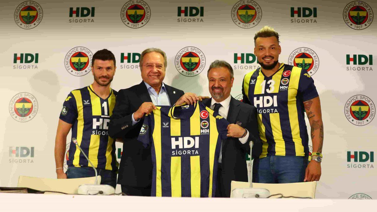 HDI Sigorta, Fenerbahçe Erkek Voleybol Takımının İsim Ve Göğüs Sponsoru Oldu