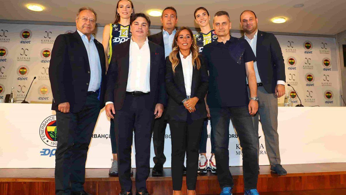 Kafkas Mücevherat, Fenerbahçe Opet'e Sponsor Oldu