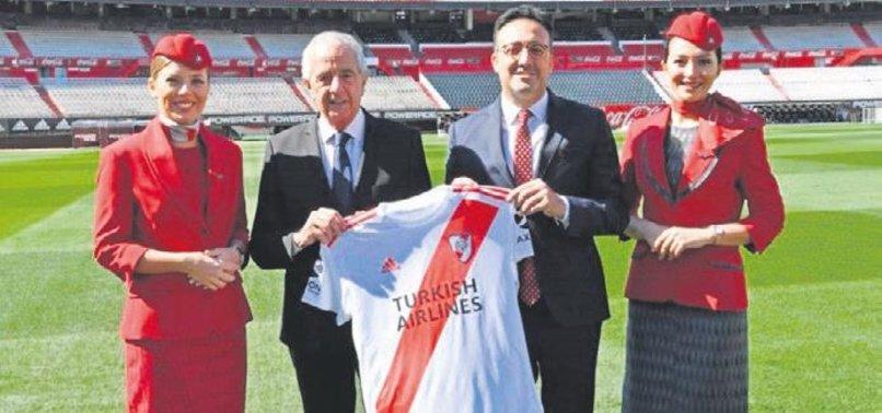 Türk Hava Yolları, Arjantinli River Plate Takımına Göğüs Sponsoru Oldu