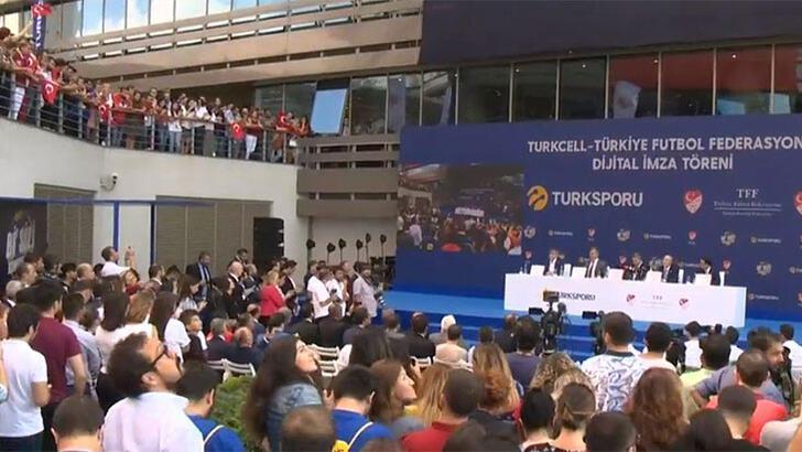 TFF ile Turkcell Arasınaki Milli Takımlar Ana Sponsorluğu 2 Yıl Uzatıldı