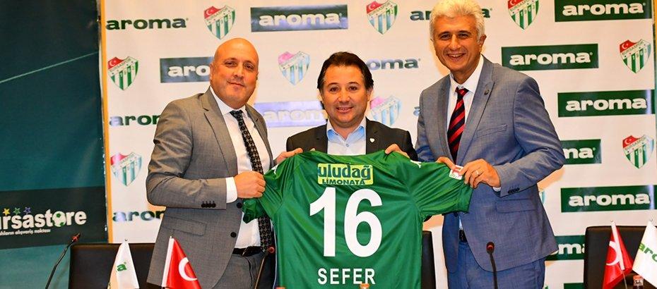 Tepkiler Üzerine Aroma Yeniden Bursaspor'a Sponsor Oldu