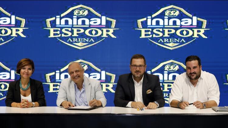 ininal, Avrupa ve Ortadoğu'nun En Büyük Oyun Merkezi Espor Arena'nın Ana Sponsoru Oldu