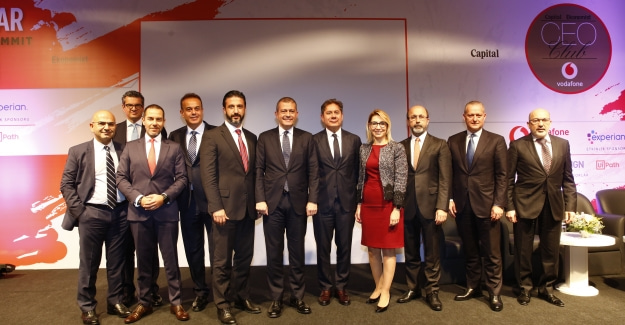CEO Club Bankacılar Zirvesi Vodafone Ana Sponsorluğunda Gerçekleşti