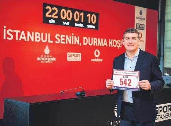 41. İstanbul Maratonu Vodafone Sponsorluğunda Koşulacak