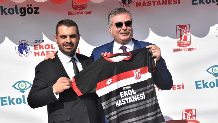 Balıkesirspor, İzmir Ekol Hastaneleri İle İsim Ve Forma Sponsorluğu İçin Anlaşma İmzaladı