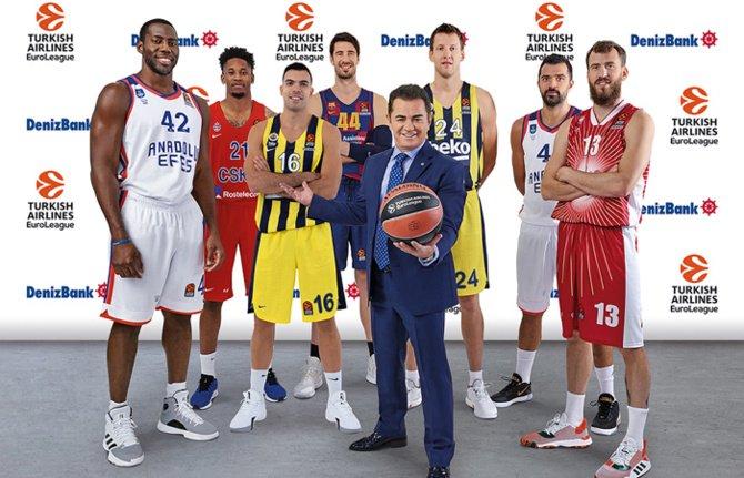 DenizBank, Euroleague Basketball'un Global Sponsoru Oldu