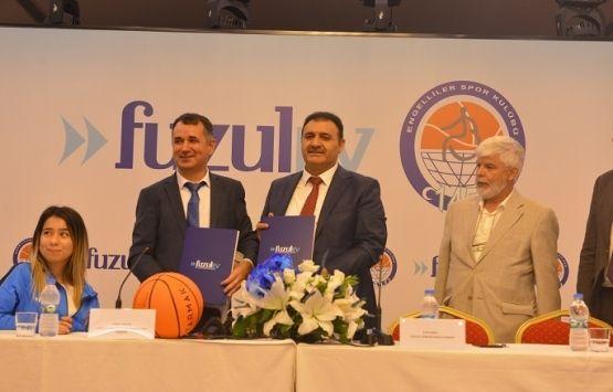 FuzulEv, 1453 Engelliler Spor Kulübü'nün İsim Sponsoru Oldu