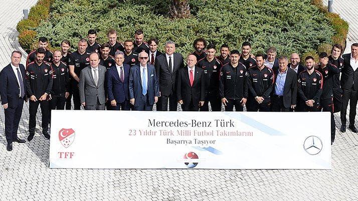 TFF VE Mercedes-Benz Sponsorluk Anlaşmalarını Uzattı