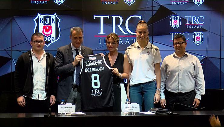 TRC İnşaat, Beşiktaş Kadın Basketbol Takımı'nın Yeni İsim Sponsoru Oldu