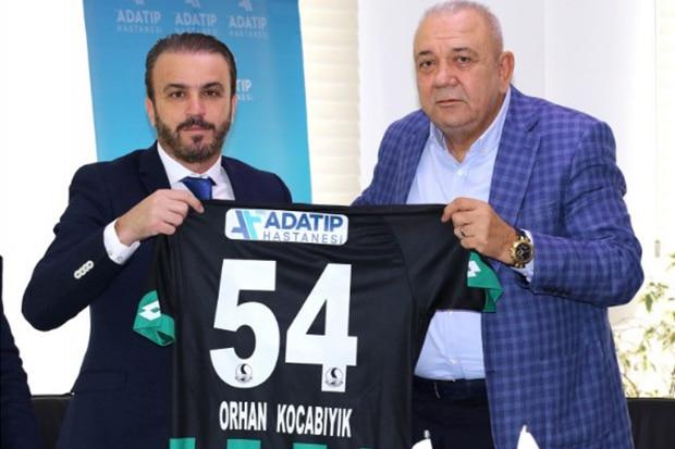 Adatıp Sağlık Grubu, Sakaryaspor'un Sağlık Sponsoru Oldu