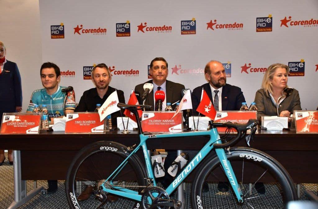 Corendon Airlines, Alman Bisiklet Takımı Bike Aid ile Sponsorluk Anlaşması İmzaladı