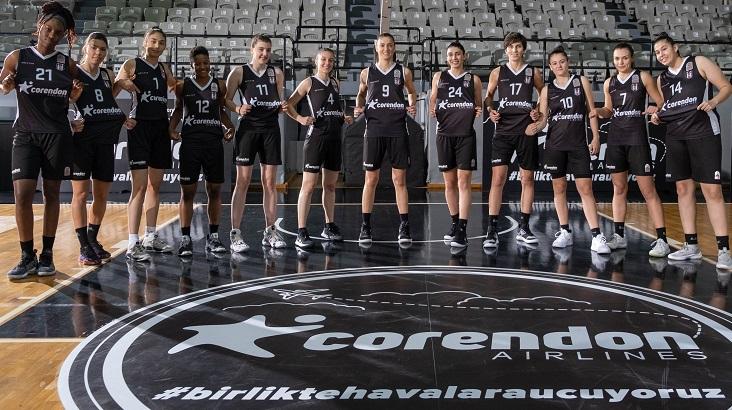 Corendon Airlines, Beşiktaş TRC İnşaat Kadın Basketbol Takımı'nın Sponsoru Oldu