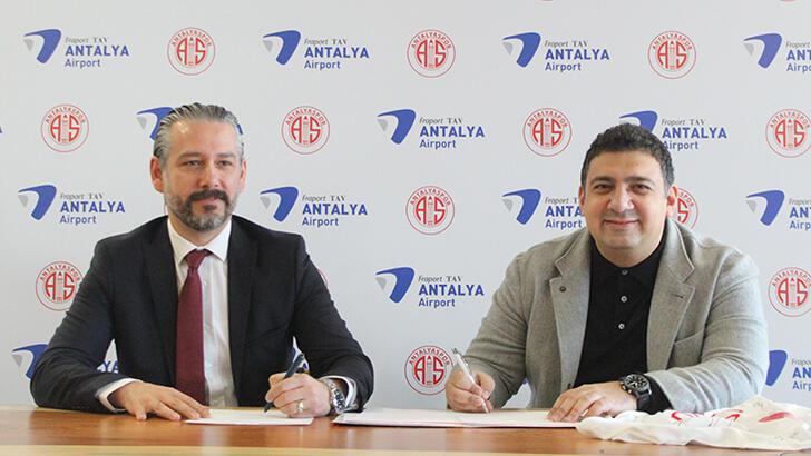 Fraport TAV, Antalyaspor'un 1,5 Yıllık İsim Sponsoru Oldu