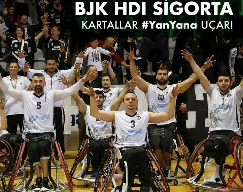 HDI Sigorta, Beşiktaş Tekerlekli Sandalye Basketbol Takımı'nın İsim Sponsoru Oldu