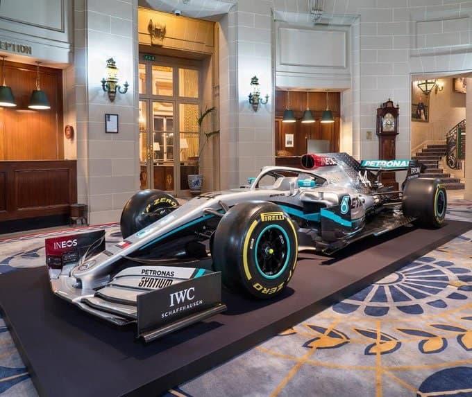 Mercedes, INEOS'la Beş Yıllık Sponsorluk Anlaşması İmzaladı