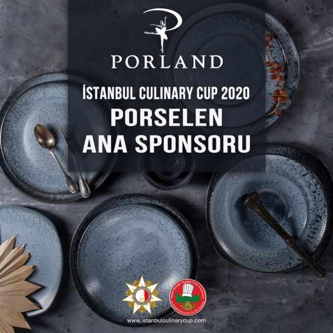 Porland, İstanbul Culinary Cup'ın Porselen Ana Sponsoru Oldu
