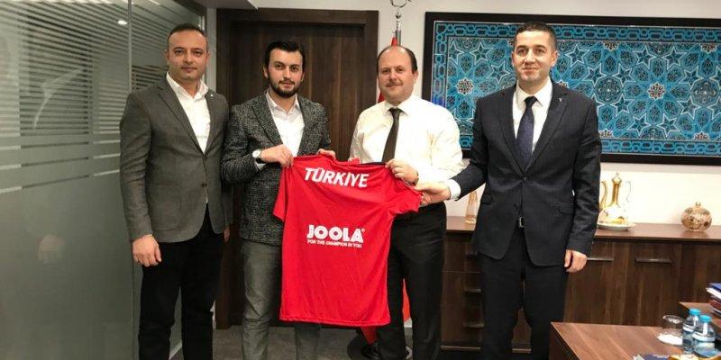 Ziraat Katılım, Türkiye Masa Tenisi Federasyonu'nun Sponsoru Oldu