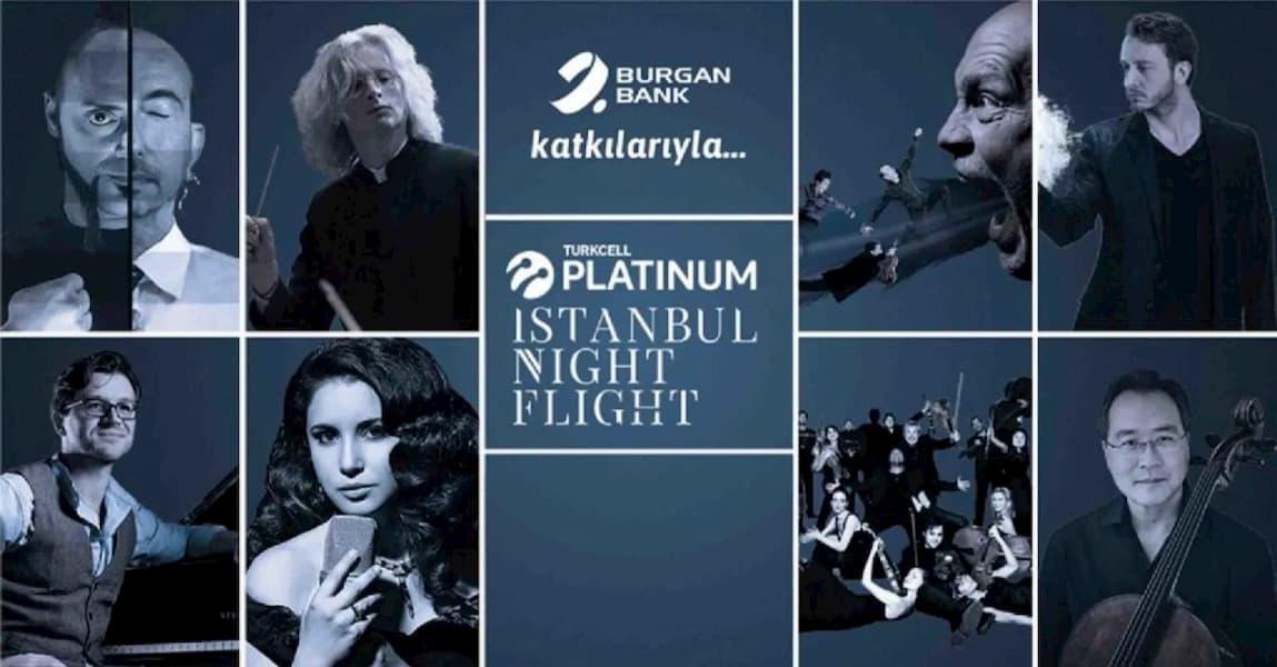 Burgan Bank, Turkcell Platinum İstanbul Night Flight Konserlerine Sponsor Oldu