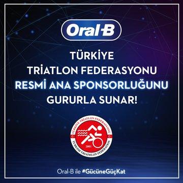 Oral B, Türkiye Triatlon Federasyonu'nun Ana Sponsoru Oldu