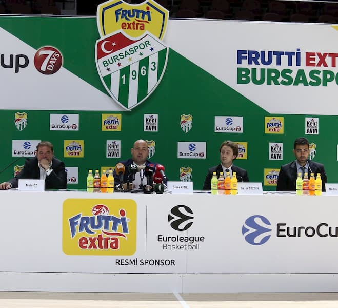 Uludağ İçecek, Bursaspor Basketbol Takımı Sponsorluğuna Devam Ediyor