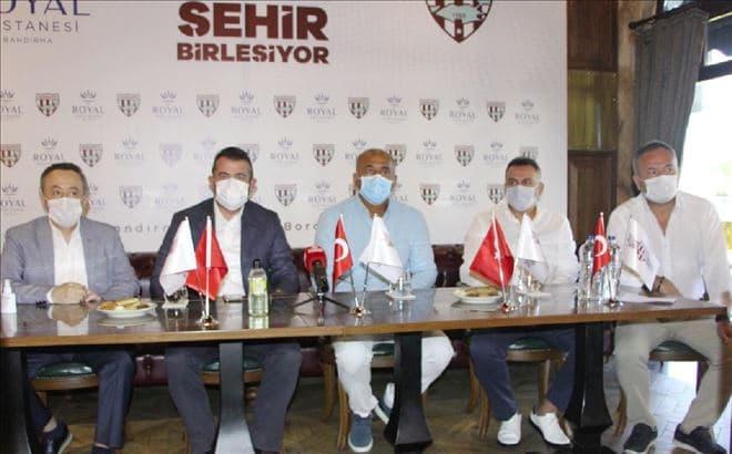Bandırmaspor – Bandırma Özel Royal Hastanesi İsim Sponsorluğu Anlaşması