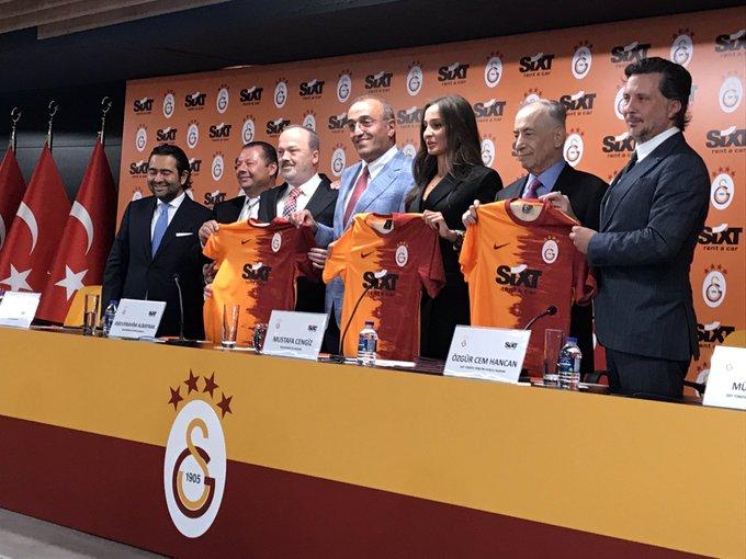 Galatasaray – SIXT rent a car Sponsorluk Anlaşması Basın Toplantısı