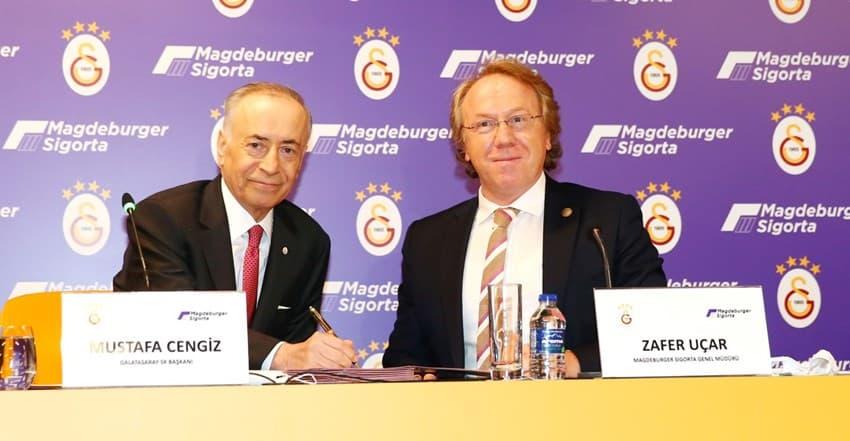 Galatasaray – Magdeburger Sigorta Forma Sırt Sponsorluğu Anlaşması Detayları