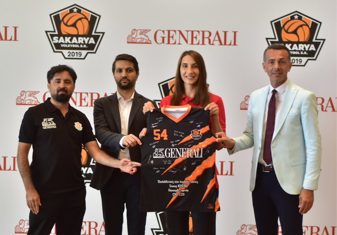 Sakarya Voleybol Spor'un İsim Sponsoru Generali Sigorta Oldu