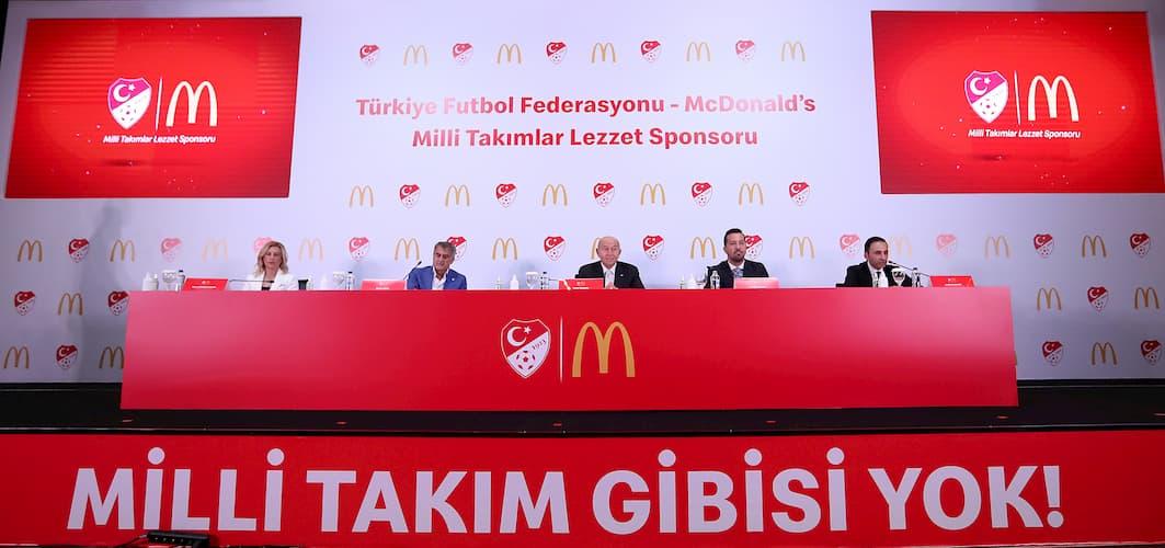 TFF – McDonald's Sponsorluk Anlaşması Detayları