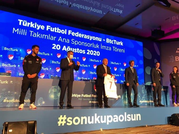 Türkiye Futbol Federasyonu'un Yeni Sponsoru BTCTürk Oldu