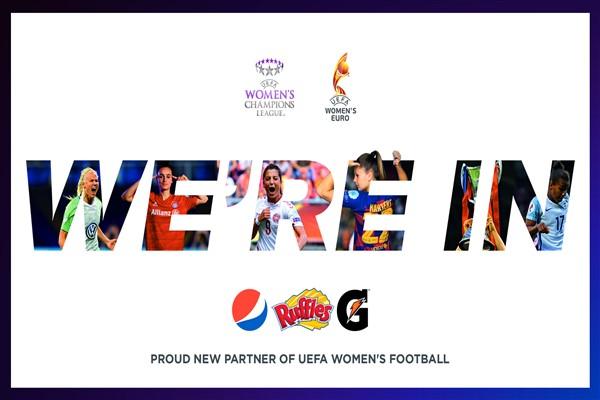 Pepsico, UEFA Kadınlar Futbolu'nun Resmi Sponsoru Oldu