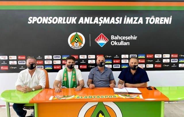 Aytemiz Alanyaspor – Bahçeşehir Koleji Stadyum İsim Sponsorluğu Yenilendi