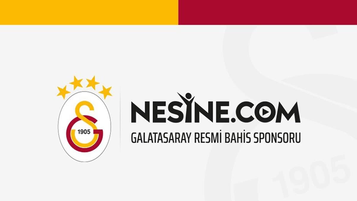 Galatasaray, Forma Kol Sponsorluğu için Nesine ile Anlaşma Sağladı