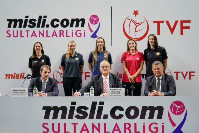 Misli.com Türkiye Kadınlar Voleybol Lig'in İsim Sponsoru Oldu
