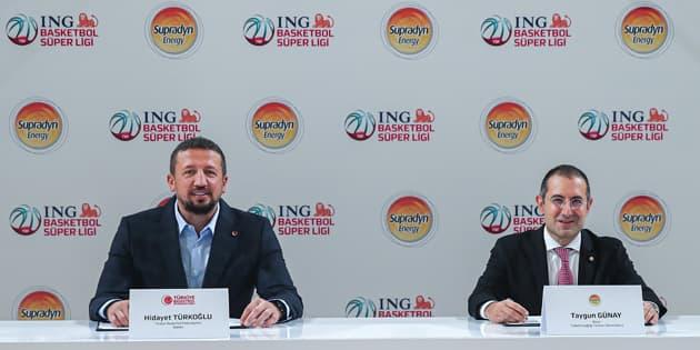 Supradyn Energy, ING Basketbol Süper Ligi'nin Yaşam Enerjisi Sponsoru Oldu