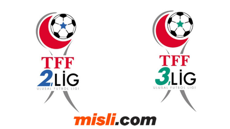TFF 2.Lig ve TFF 3.Lig'in İsim/Yayın Hakkı Sponsoru Misli.com Oldu