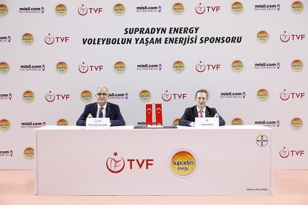 Supradyn Energy, Türkiye Voleybol Federasyonu'nun Sponsoru Oldu