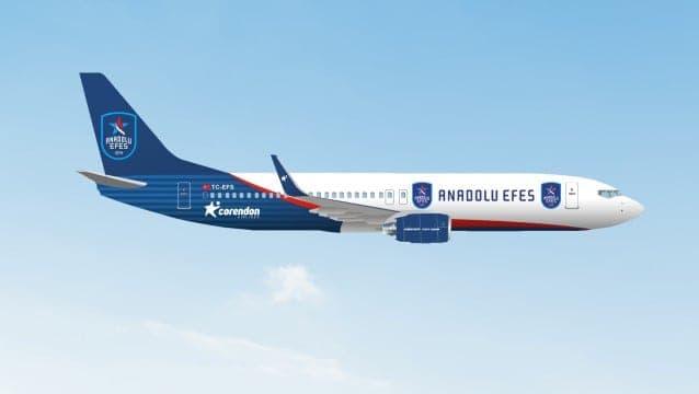 Corendon Airlines, Anadolu Efes'in Önemli Sponsorlarından Biri Oldu