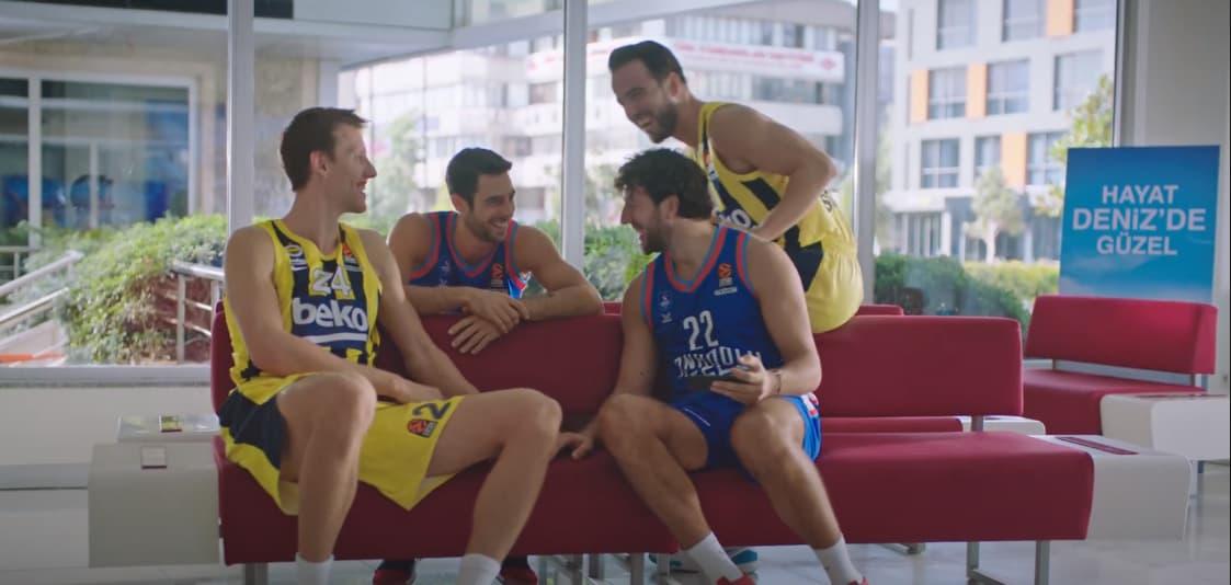 DenizBank, EuroLeague Sponsorluğunun 2. Yılında Yeni Reklam Kampanyasını Yayınladı