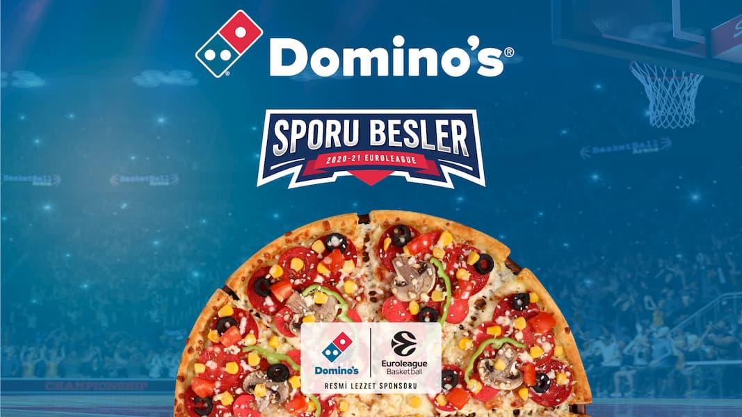 Domino's Pizza, EuroLeague ve EuroCup'ın Resmi Sponsoru Oldu