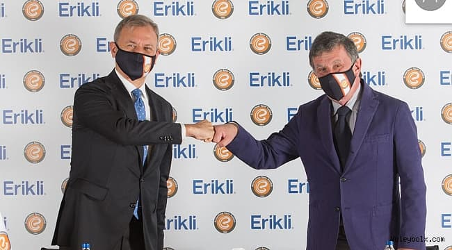 Eczacıbaşı Spor Kulübü, Erikli ile olan Su Sponsorluğu Anlaşmasını Yeniledi