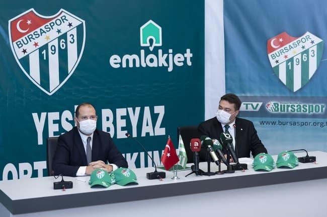 Emlakjet, Bursaspor'un Şapka Sponsoru Oldu