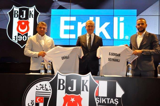 Erikli, Beşiktaş JK ile olan Resmi Su Sponsorluğu Anlaşmasını Yeniledi