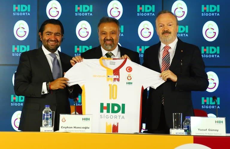 HDI Sigorta, Galatasaray Kadın ve Erkek Voleybol Takımları'nın İsim Sponsoru Oldu