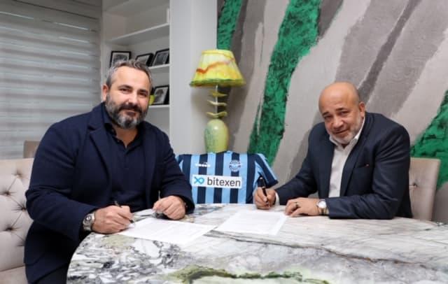Adana Demirspor'un Forma Göğüs Sponsoru Bitexen Teknoloji Oldu