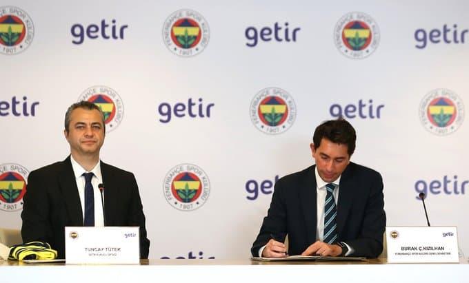 Getir, Fenerbahçe'nin 'Zaman Sponsoru' Oldu