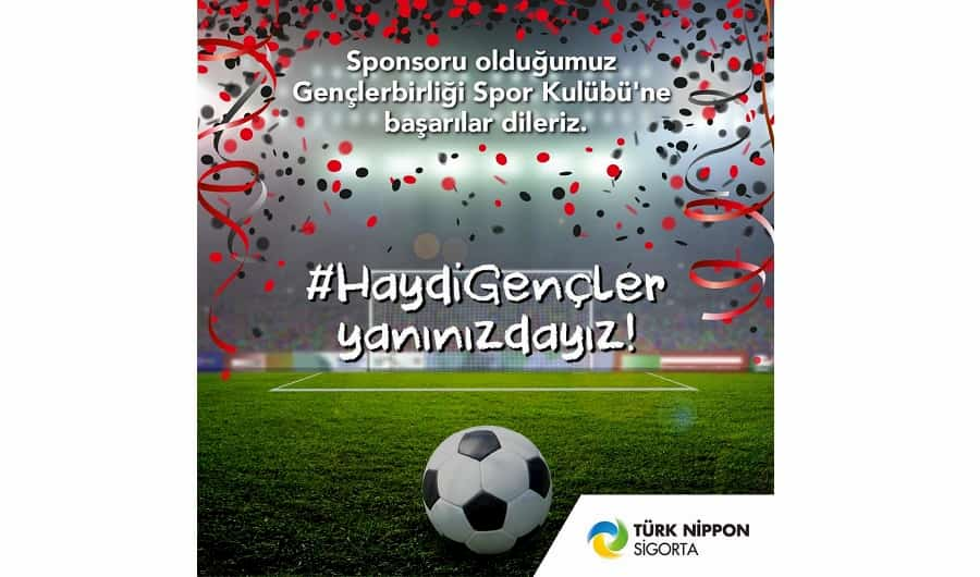 Türk Nippon Sigorta, Gençlerbirliği'nin Forma Sponsoru Oldu