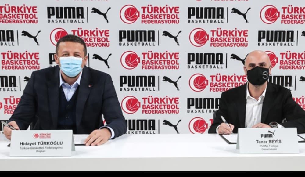 Türkiye Basketbol Federasyonu Puma ile 5 Yıllık Anlaşma Sağladı